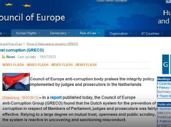 CALIFICACIÓN DE LA JUSTICIA ESPAÑOLA POR EL CONSEJO DE EUROPA: NECESITA MEJORAR